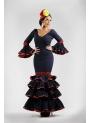 Traje de Flamenca Esmeralda