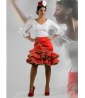 Faldas flamencas cortas