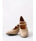 Zapatos Flamenco Piel 2 Correas