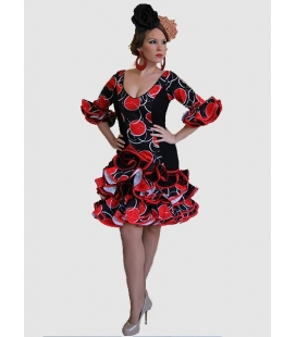 Traje de Flamenca, Modelo Caña, Trajes de Flamenca