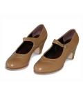 Zapatos Flamenco Mercedes de Gallardo en Piel Colores