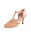 Zapato Baile Salon Profesional Beige, Ref: 573009