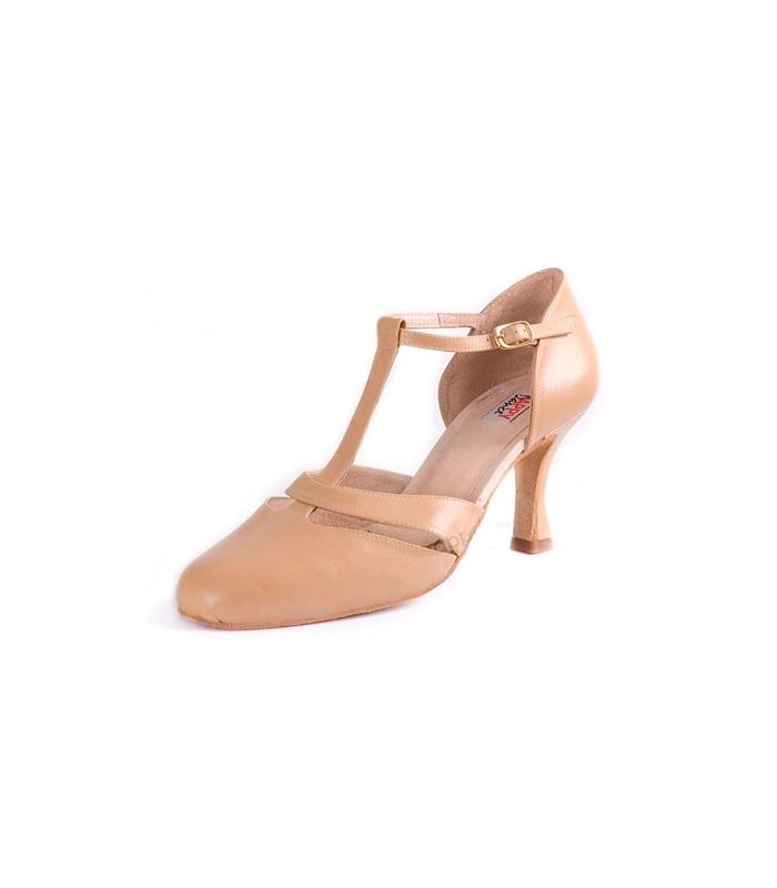 ... Zapato Baile Salon Profesional Beige ff3cdec56046