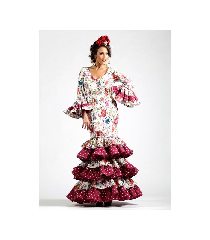 Vestido de flamenco para mujer