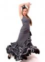 Moda Flamenca 2016, Coral, Talla 54/56