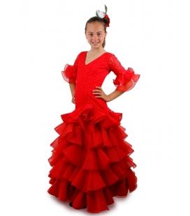 Trajes Flamenca Niña 2016, Manzanilla
