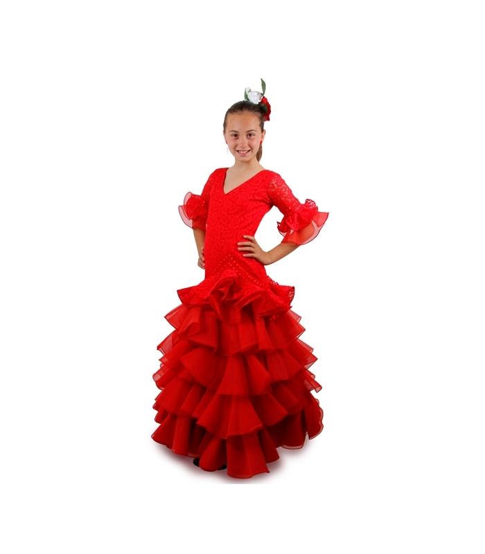 d2ffdd2ee Trajes Flamenca Niña 2016