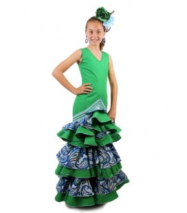 Trajes de Flamenca Niña 2016, Marifé