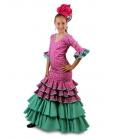 Trajes Flamenca Niña, Laurel