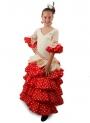 Trajes de Flamenca para niña, Jabera