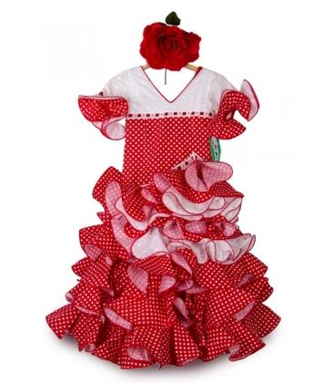 Trajes Flamenca Niña, Amapola