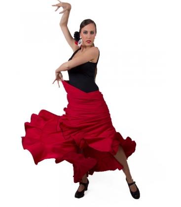 Falda Flamenca de Ensayo