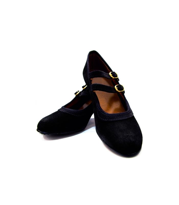 238dc3349 Zapatos Flamenco En Ante para principiantes