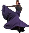 faldas flamencas de vuelo