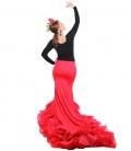 batas de cola flamenca