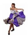 Falda Flamenca mod. EF024 sra (punto-crespon)