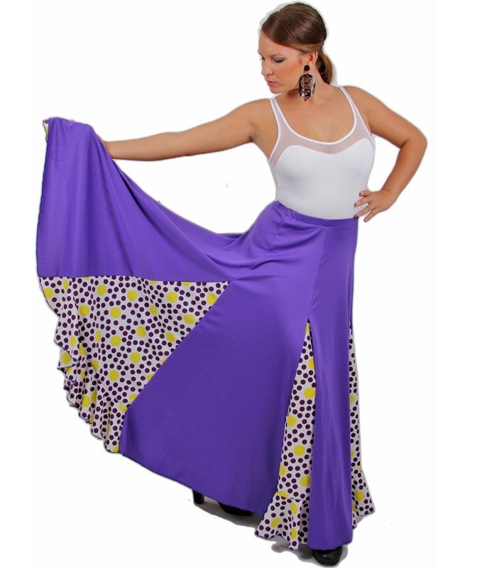 Falda de flamenco Happy Dance para Señora