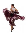 Falda flamenca baile mod. EF013 sra
