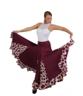Falda Flamenca Baile Happy Dance