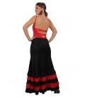 Faldas Flamencas mod. EF-200 (punto-punto)