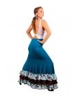 Faldas Flamencas mod. EF243 (punto-crespon)