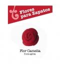 Flor Camelia para Zapatos Flamencos