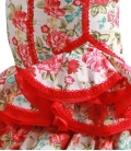 traje de flamenca con flores