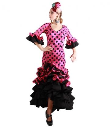 traje de flamenca romance