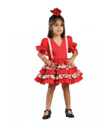 Vestido de Flamenca Niña 2017