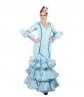 vestido de flamenca roce