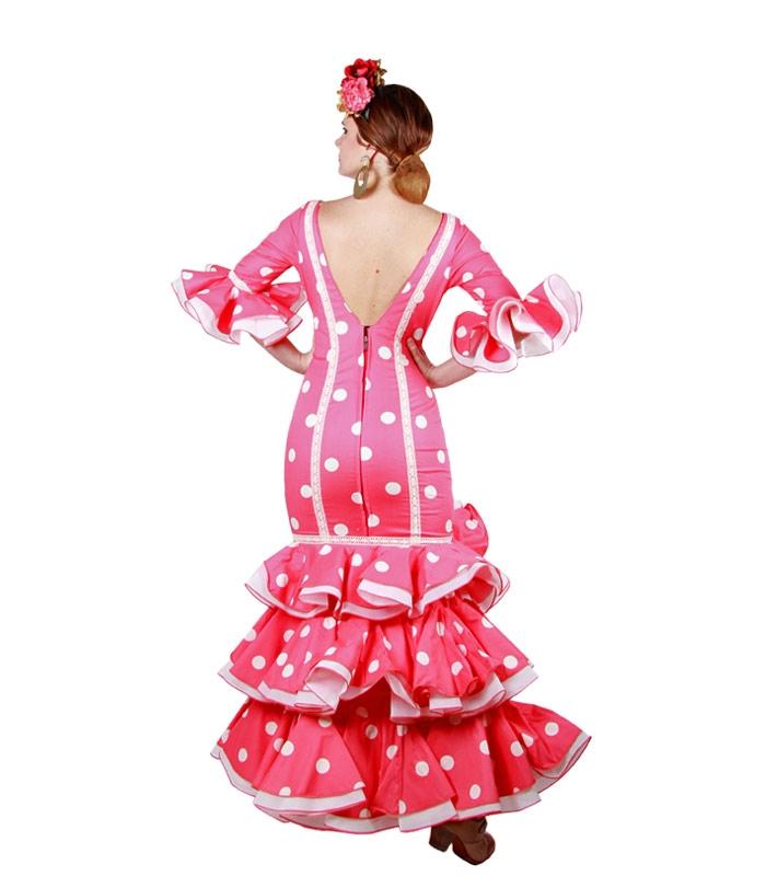 Vestido de flamenca del 2017, modelo Roce