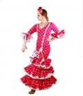vestido de flamenca de roal 2017