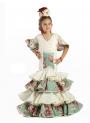 Vestido de Flamenca Para niñas 2017, Begonia Super