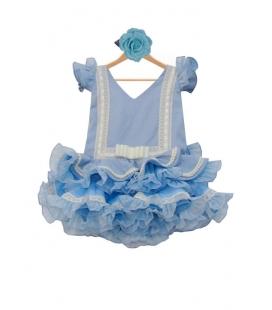 trajes de flamenca cortos para niñas