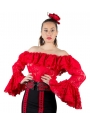 Camisa Flamenca De Encaje