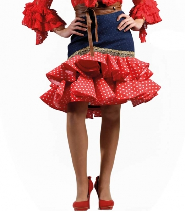 Faldas corta de flamenca
