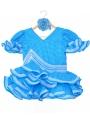 vestido de flamenco para niña