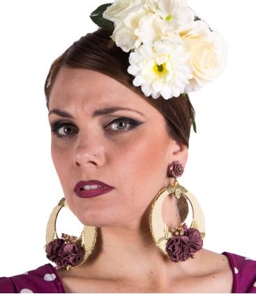 Pendiente de flamenca del 2017