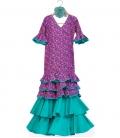 Trajes De Flamenca Niña, talla 6