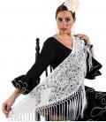 manton de flamenco de encaje