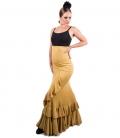 faldas de flamencas cintura alta