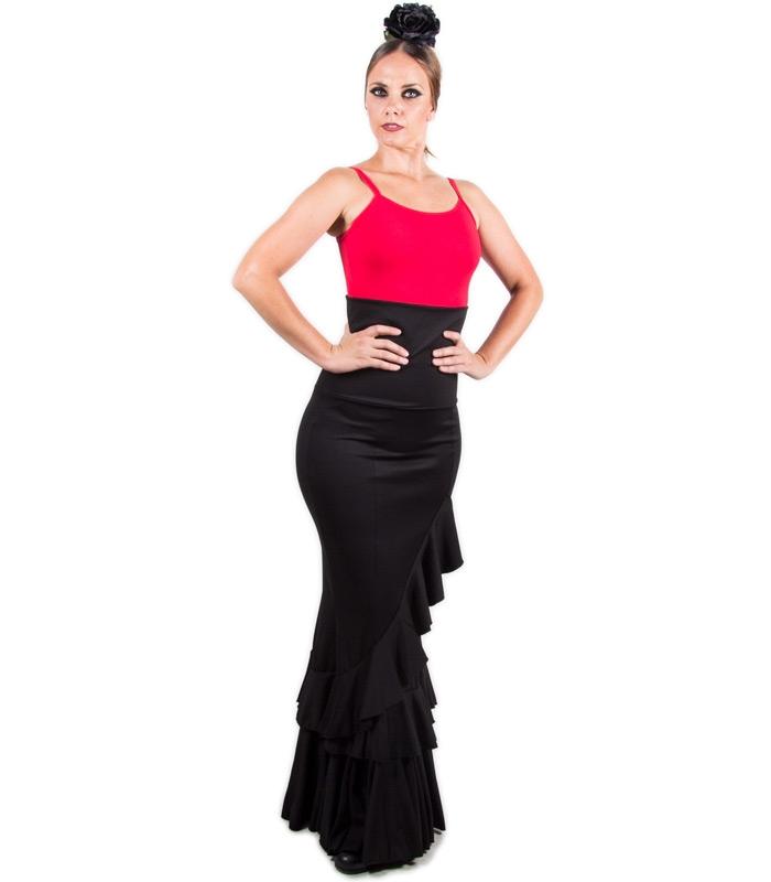 602f22bb7 Faldas flamencas de baile y faldas para bailar flamenco salón ...