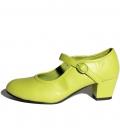 Zapato de gitanilla verde pistacho
