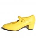 Zapatos de gitanilla amarillo