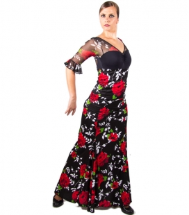 Faldas Flamencas 3 godet c/alta (ptoestp-ptoestp)