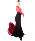 Falda De Baile Flamenco 3 Godets