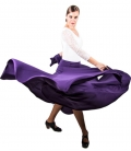 faldas flamencas con vuelo