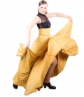 Faldas Flamencas 8 Godet, Cintura Alta