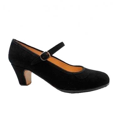 06f46ccf Zapatos de flamenco de ante Happy Dance