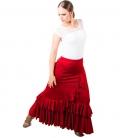 Faldas de Flamenca Salón Cintura Normal